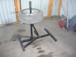 Станок для бортировки колес своими руками