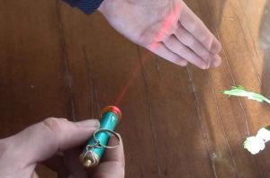 Лазерный отвес своими руками