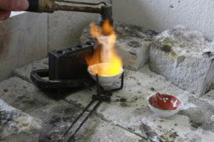 Как расплавить сталь в домашних условиях