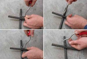 Приспособление для вязки арматуры своими руками
