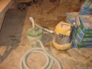 Строительный пылесос своими руками для цементной пыли