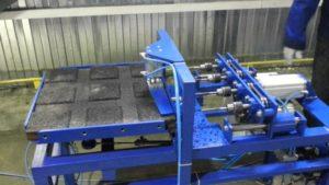 Станок для изготовления резиновой плитки