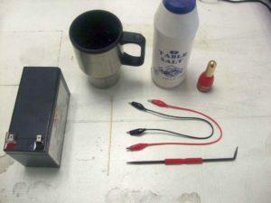 Электрохимическая гравировка в домашних условиях