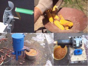 Как сделать измельчитель зерна своими руками