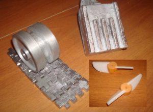 Как сделать форму для отливки из алюминия