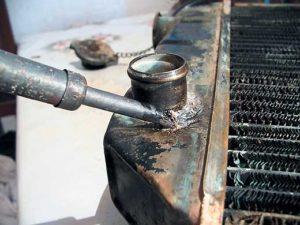 Ремонт медного радиатора автомобиля своими руками