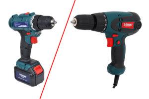 Какой шуруповерт лучше сетевой или аккумуляторный?