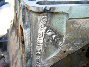 Как заварить чугунный блок двигателя электросваркой?