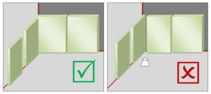 Как правильно класть плитку в углах?