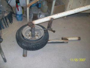 Разбортовка колеса самодельные приспособления