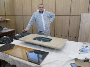 Производство изделий из жидкого камня