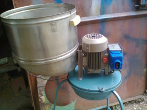 Крупорушка своими руками из стиральной машины