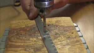 Как просверлить отверстие в каленом металле?