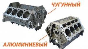 Какой блок цилиндров лучше чугунный или алюминиевый?