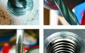 Как восстановить резьбу в алюминии