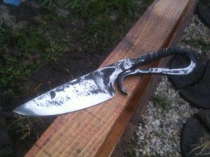 Как закалить нож из рессоры