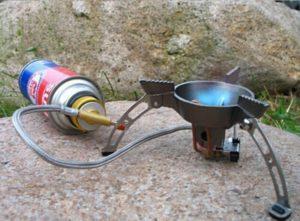 Походная газовая горелка своими руками