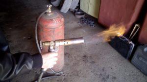 Газовая горелка своими руками на пропане