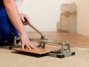 Как распилить кафельную плитку в домашних условиях