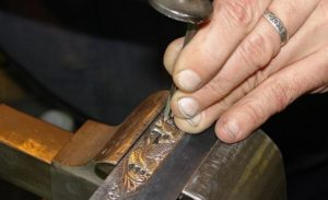 Чеканка по металлу своими руками