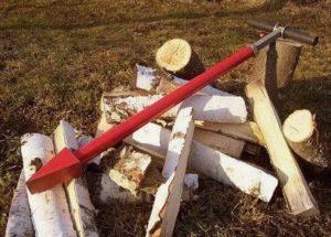Колун для дров ручной своими руками