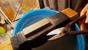 Заточка ножниц по металлу своими руками