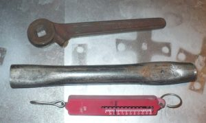 Динамометрический ключ для автомобиля своими руками