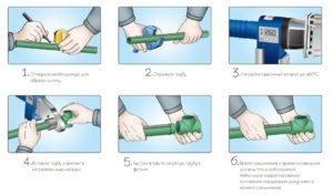 Как правильно спаивать полипропиленовые трубы?