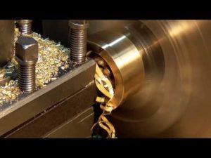 Обработка меди на токарном станке