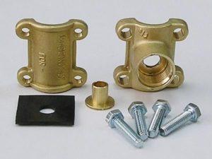 Врезка в металлическую трубу без сварки