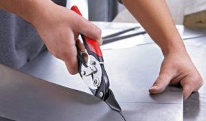 Как правильно резать ножницами по металлу?