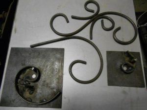 Как сделать кованые элементы своими руками