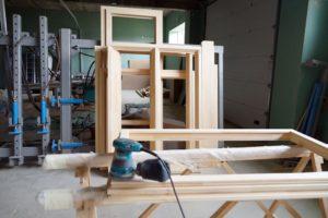 Технология производства деревянных евроокон
