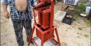 Пресс для топливных брикетов своими руками