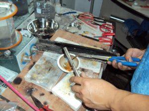 Как расплавить серебро в домашних условиях
