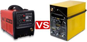 Что лучше сварочный трансформатор или инвертор?