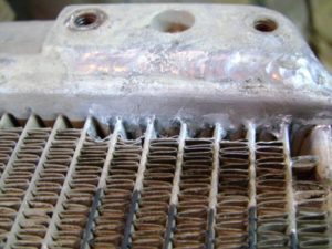 Можно ли запаять алюминиевый радиатор автомобиля?