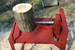 Машина для колки дров своими руками