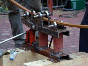 Приспособление для гибки профильной трубы своими руками