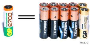 Как узнать можно ли заряжать батарейку?