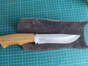 Изготовление рукояти ножа из дерева