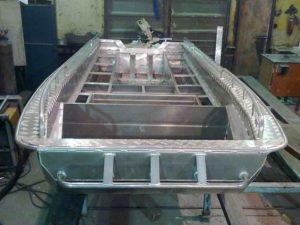 Как сделать алюминиевую лодку своими руками