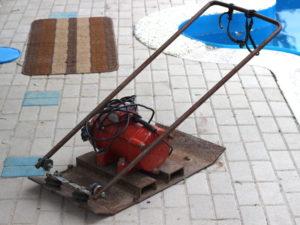 Виброплита электрическая 220в своими руками