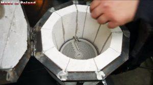 Муфельная печь для плавки алюминия своими руками