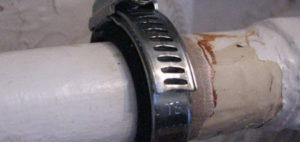 Можно ли холодной сваркой заварить трубу отопления?