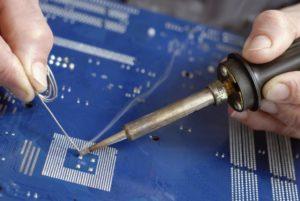 Что нужно для пайки микросхем?