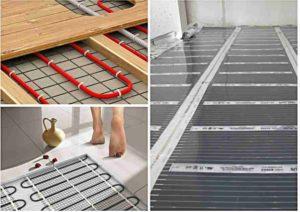 Как правильно класть теплый пол под плитку?