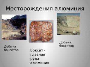 Где добывают алюминий в России