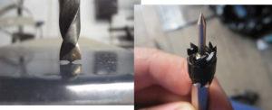 Как заточить сверло для высверливания точечной сварки?