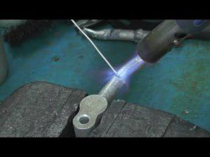 Как паять алюминий горелкой